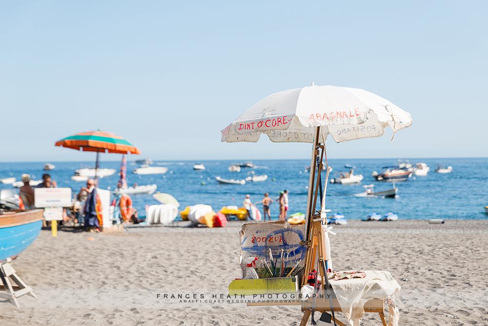 Positano beach