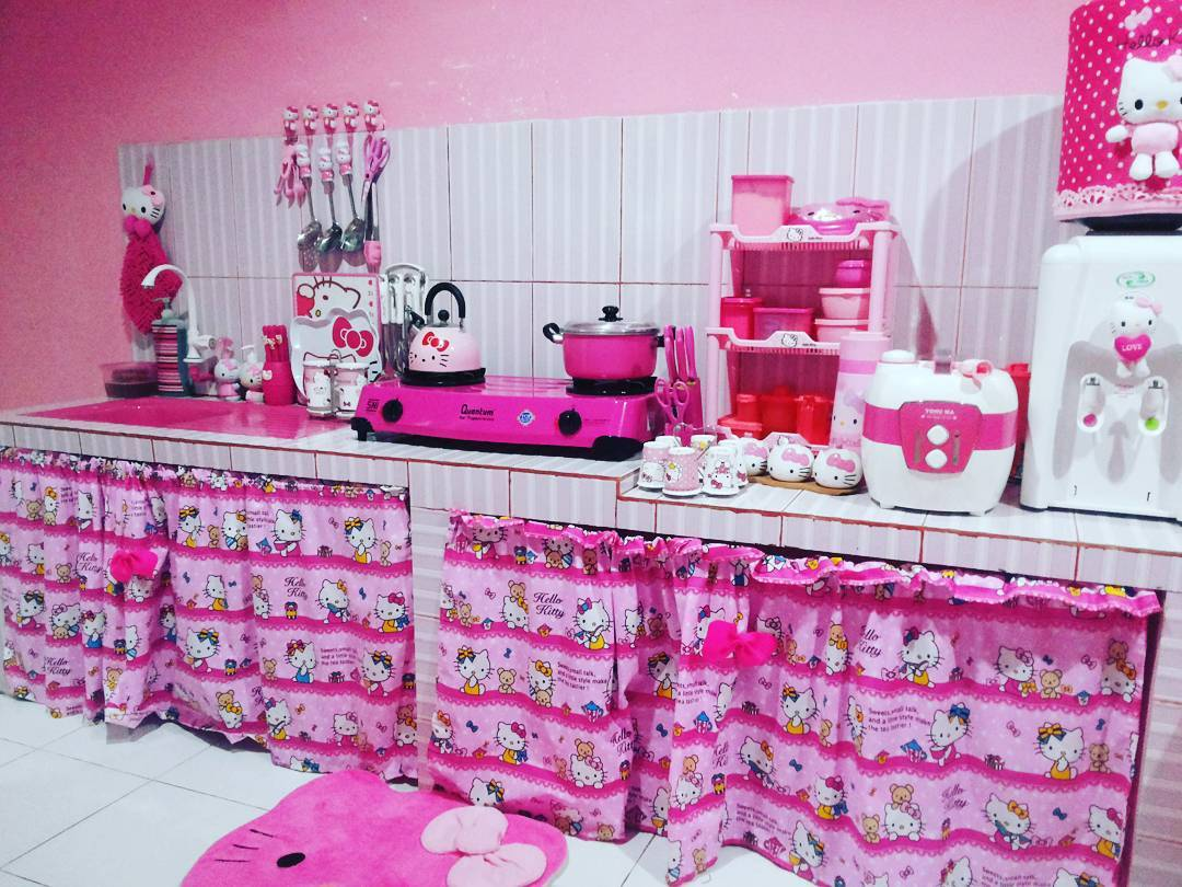 38 Dapur Cantik Hello Kitty Paling Top