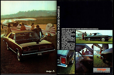 propaganda Chrysler Dodge Charger LS 74 - 1973