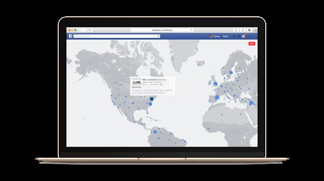 Facebook Live transmissions