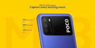 POCO M3 Mobile, Camera, Battery, Specs
