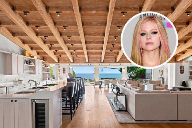 Avril Lavigne compró una gran casa en Malibú con vista al mar