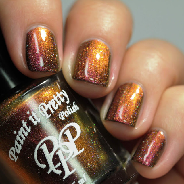 Paint It Pretty Polish I Laugh In The Face Of Danger swatch by Streets Ahead Style