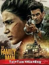 The Family Man (2021) HDRip Season 2 [Telugu + Tamil + Hindi + Eng] Watch Online Free