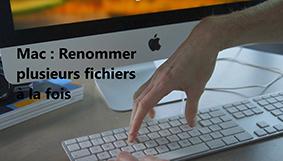 Comment renommer plusieurs fichiers à la fois sur un ordinateur Mac?