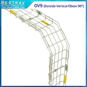 Bestray | Máng Cáp Dạng Lưới | Co, Tê | Co Xuống 90 Độ (OV9)