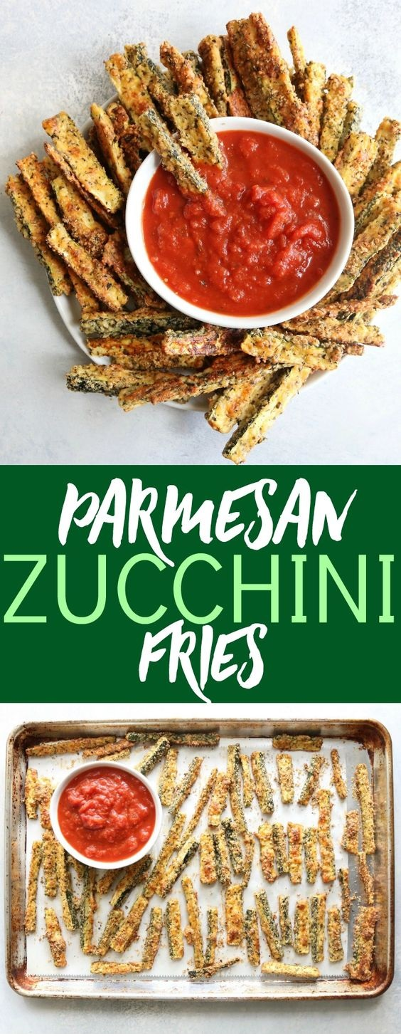 Parmesan Crusted Zucchini Fries