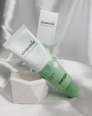 review snp prep cicaronic soothing cream