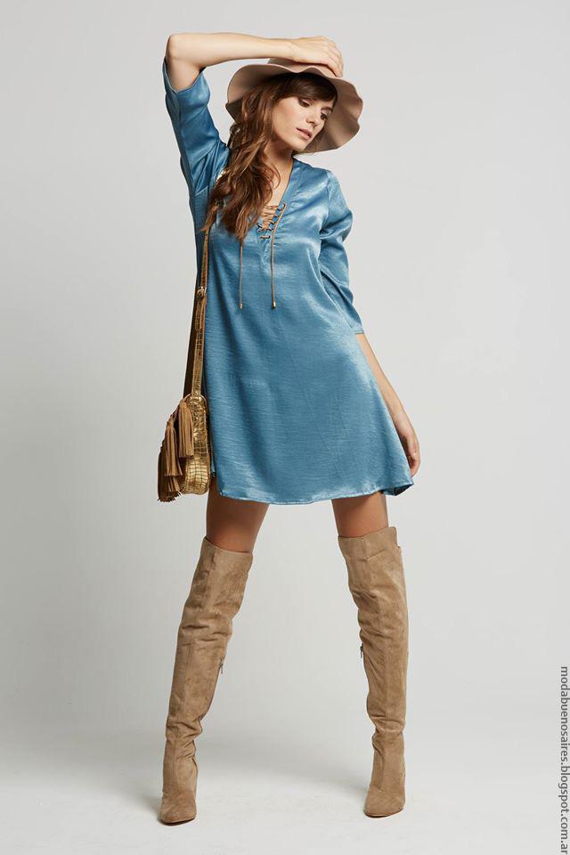 Vestidos invierno 2016 mujer. Moda Doll Store. Moda 2016.