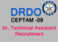 drdo recruitment 2018 - drdo.gov.in ceptam09.com sta job in drdo