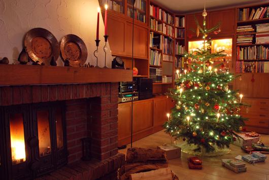 Weihnachten mit klassischer Deko in der Heimat