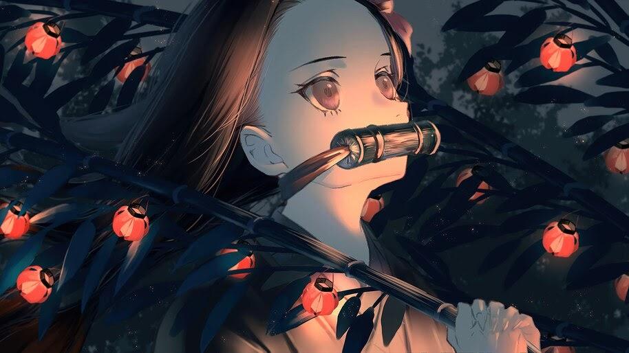 Nezuko, Kamado, Kimetsu no Yaiba, 4K, #3.1406