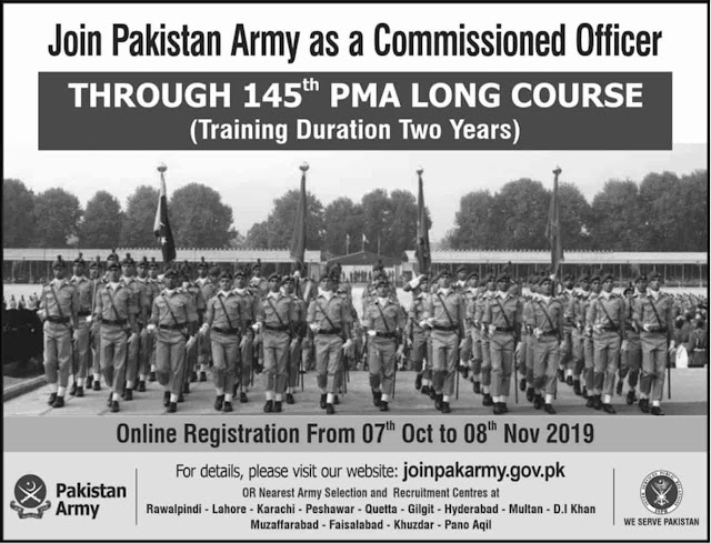 https://www.jobspk.xyz/2019/10/join-pak-army-through-145th-pma-long-course-2019-as-commissioned-officer-online-registration.html