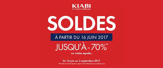 soldes kiabi juin juillet aout septembre 2017