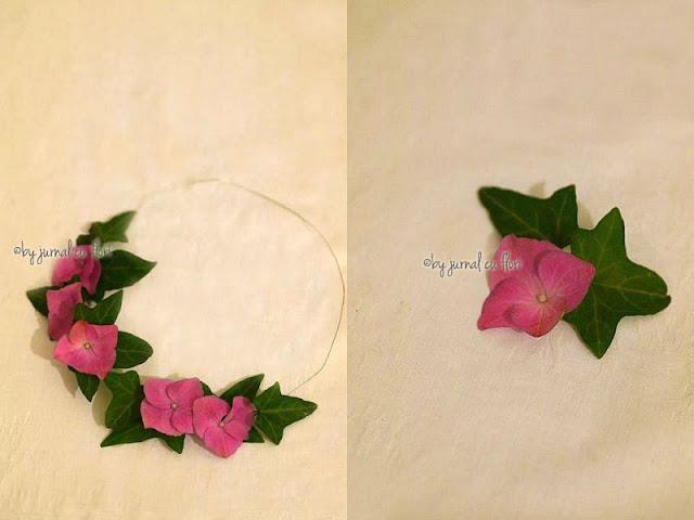 coronita de flori vintage shic