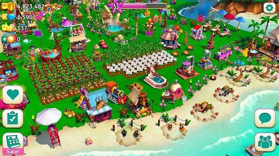 FarmVille 2 Tropic Escape MOD APK for Android Download