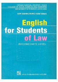 English For Students Of Law - Lâm Quang Đông