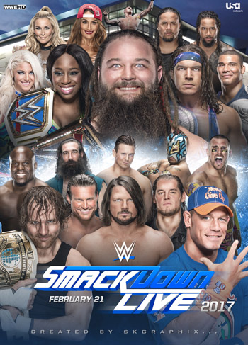 WWE Friday Night Smackdown 1st May 2020 ORG English HDTV 720p  480p poster