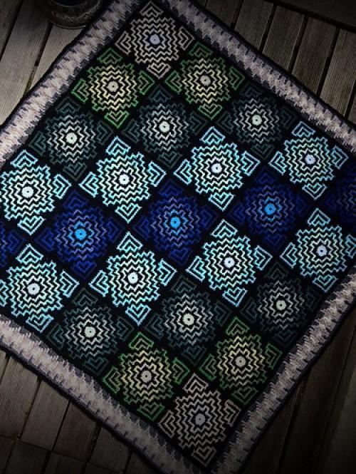 Terrazzo Blanket - Free Pattern