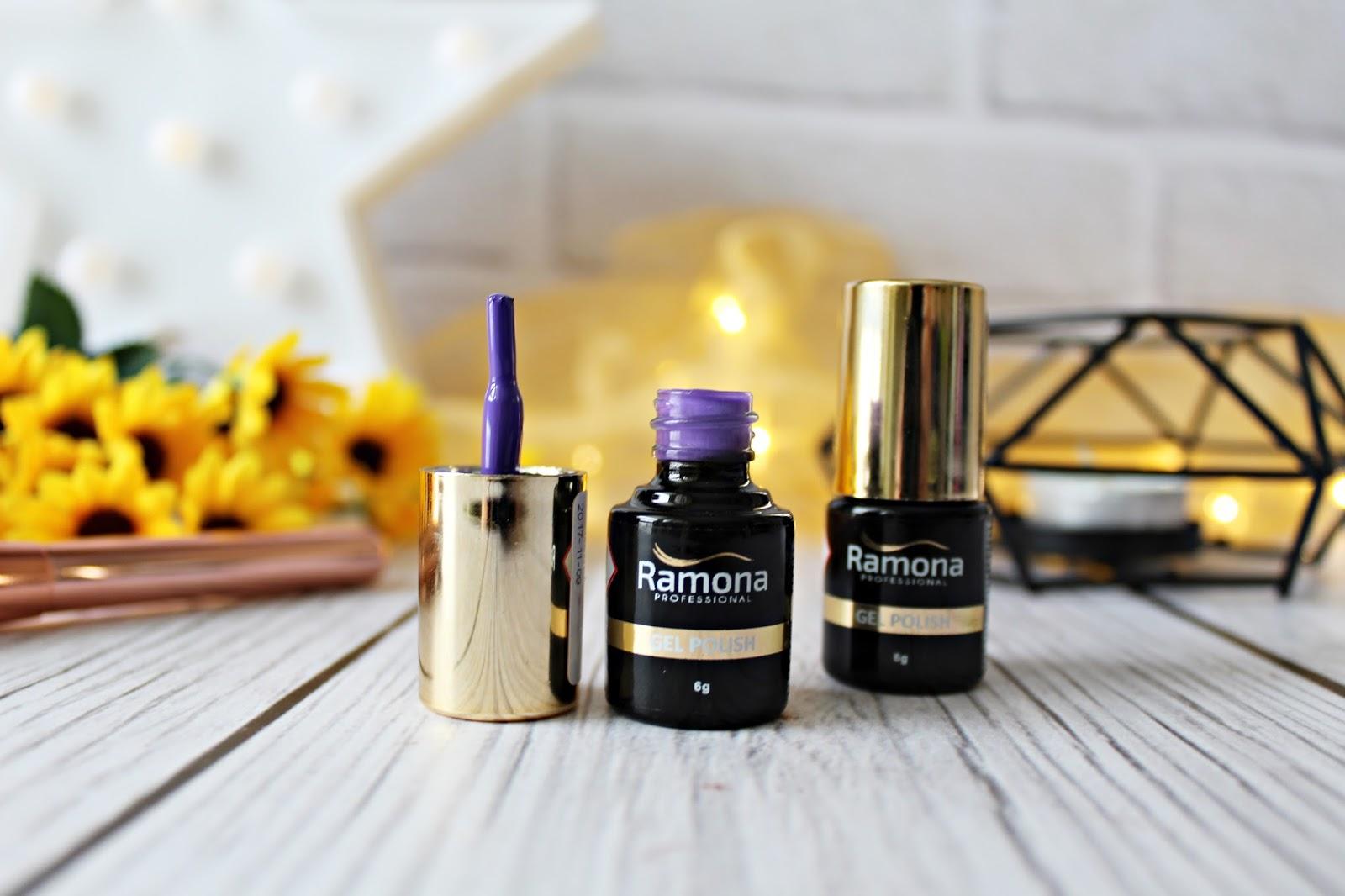 Fioletowe szaleństwo z lakierami RAMONA gel polish - Maxel cosmetics