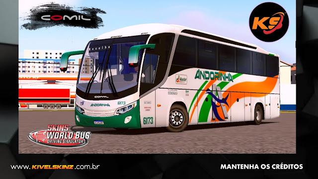 COMIL 1200 4X2 - VIAÇÃO ANDORINHA