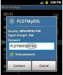 How to Hack WI-FI PLDTMyDSL password using Android apk