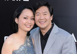 Tran Jeong with her husband Ken Jeong
