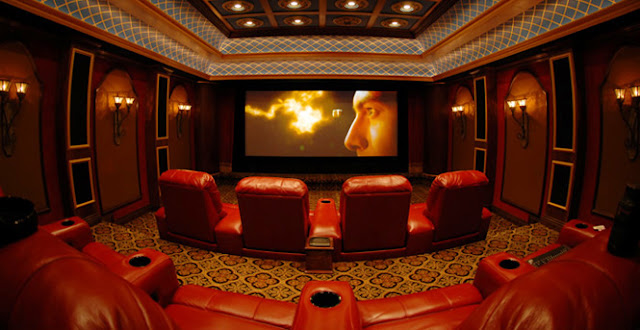 Home Theater and press room