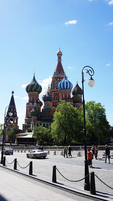 На фото - Храм Василия Блаженного на Красной площади