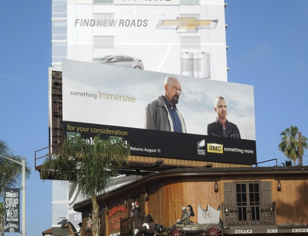 Breaking Bad Immersive AMC Emmy billboard