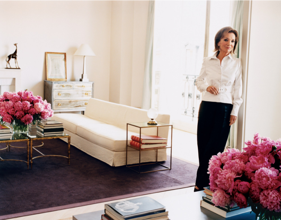 Interiors Redux | At Home With: Lee Radziwill, Paris