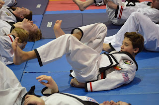Teen martial arts classes at the Colorado Taekwondo Institute