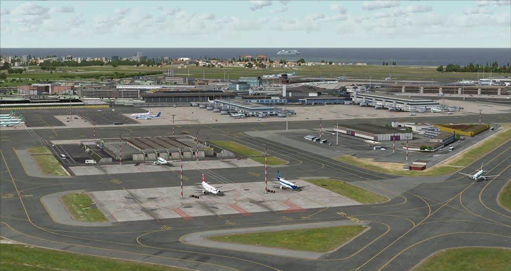 Download Scenery Aerosoft Mega Airport Rome X (LIRF) #FSX