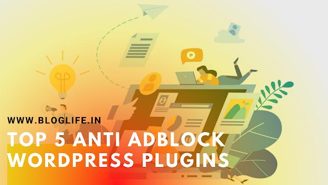 anti adblock WordPress plugins