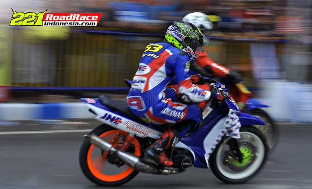 Hasil Road Race Bondowoso, Mantabz JNE Express Jadi Sponsor event
