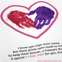valentines day crafts for kids handprint poem