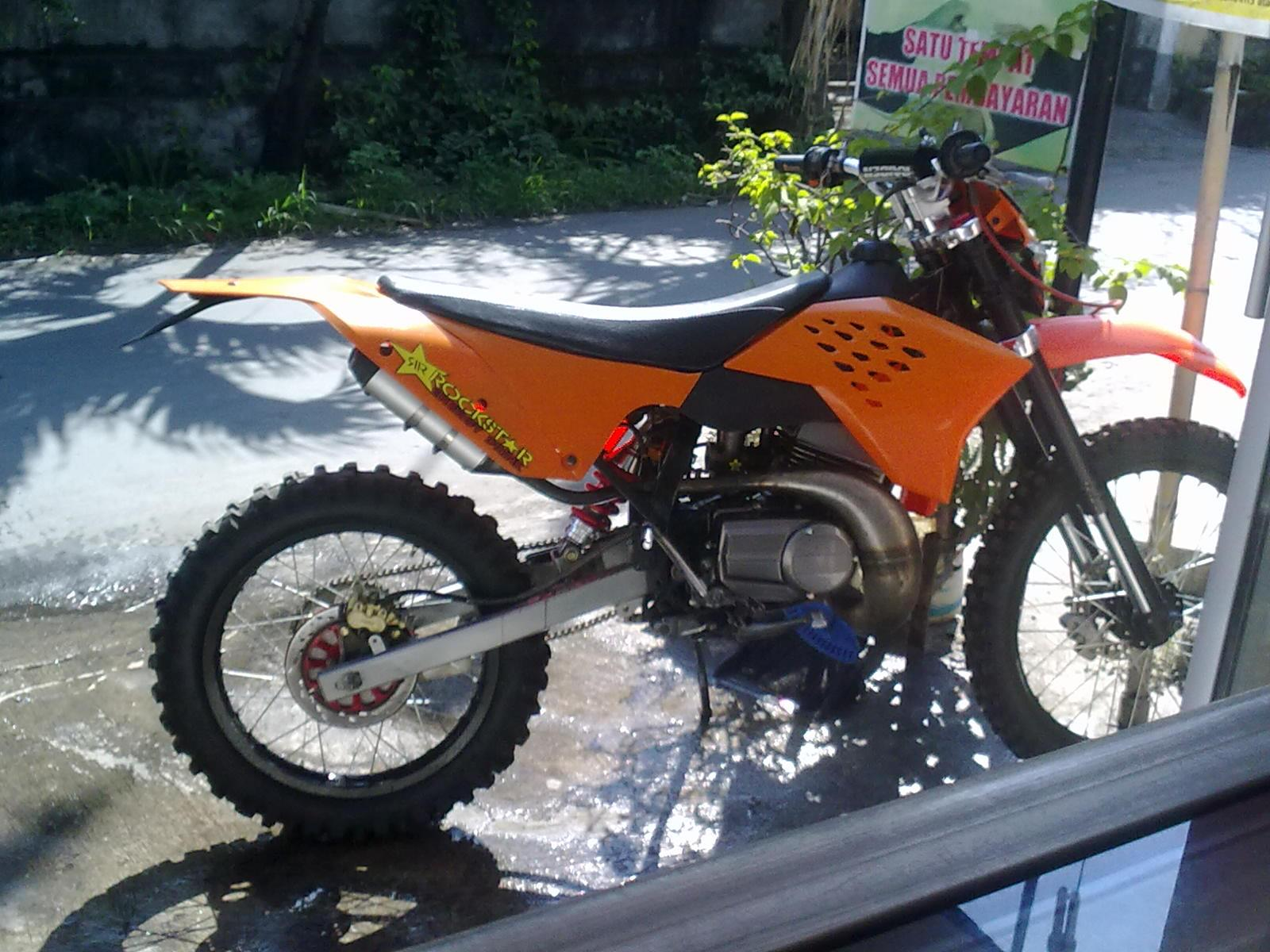 Modifikasi Motocross: Cross/trail Ktm