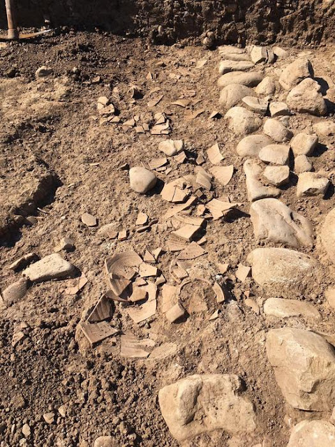 Excavations bring to light traces of earthquake at Himera