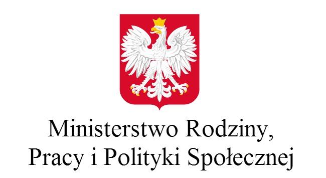 Ministerstwo Rodziny Pracy i Polityki Społecznej - logo