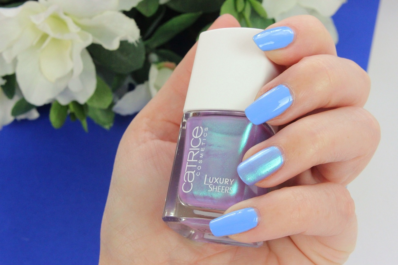 2016, CATRICE, color of the year, drogerie, farbtrend, hellblau, luxury sheers, miss-terious lilac, nagellack, nailpolish, nails, neues sortiment, pantone, review, serenity, swatches, the sky so fly, tragebilder,