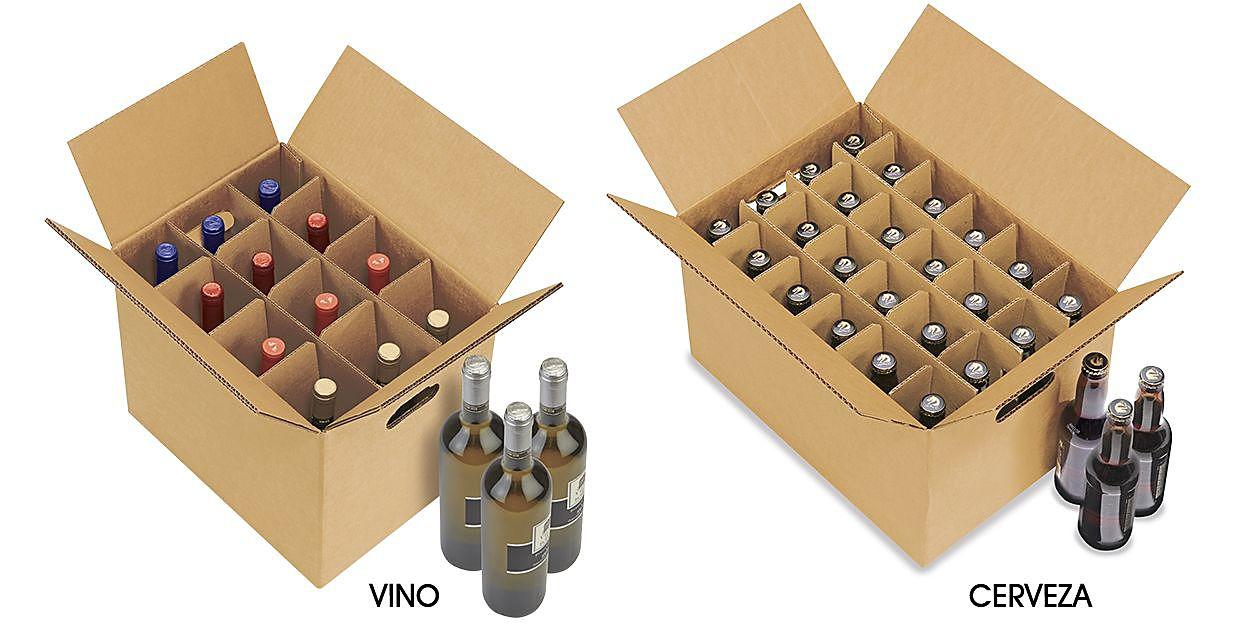Las cajas de cartón funcionan para cualquier modelo de botellaLas cajas de cartón funcionan para cualquier modelo de botellaLas cajas de cartón funcionan para cualquier modelo de botella