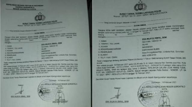 Perselingkuhan Kadis Kominfo dan Honorer PDAM Resmi Dilaporkan ke Polisi