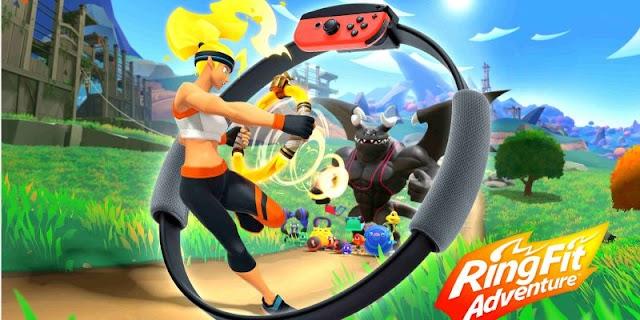 Ring Fit Adventure é a nova tentativa da Nintendo de te tirar do sofá