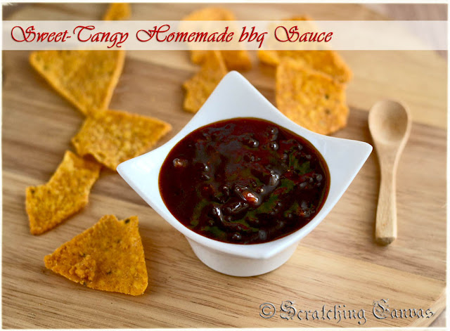 Sweet Tangy Barbecue Sauce