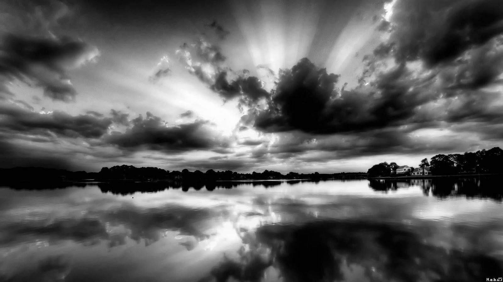 Black And White Wallpapers Hd Black And White Scenic -3416