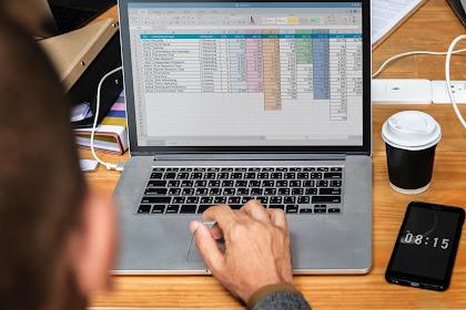 Cara Membuat Tabel Pada Teks Ketikan di Microsoft Excel Dengan Mudah