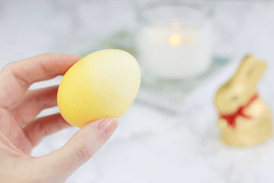 easy ombre easter eggs