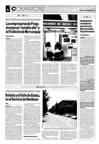 Fañanás: Alcalá entrará con todos los servicios en la Mancomunidad Hoya-Somontano