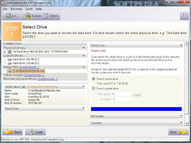 Download GetDataBack for FAT & NTFS