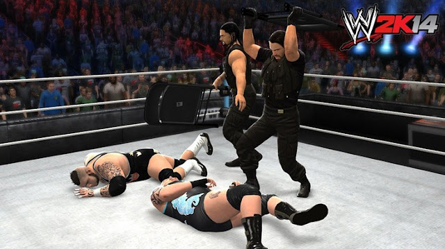 WWE 2K14 PSP GAME Gameplay 2